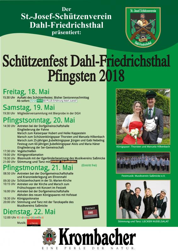 Pfingsmontag - Schützenfest